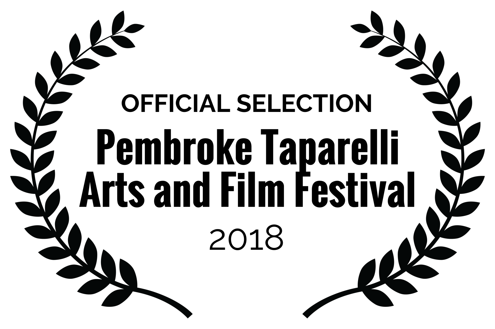 Official Selection | Pembroke Taparelli Arts and Film Festival 2018